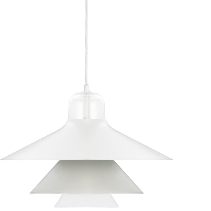 Normann Copenhagen - Ikono Pendelleuchte, grau, groß