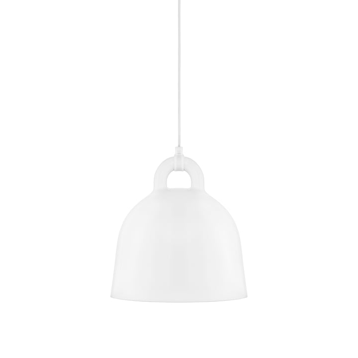 Bell Pendelleuchte von Normann Copenhagen in weiß (small)