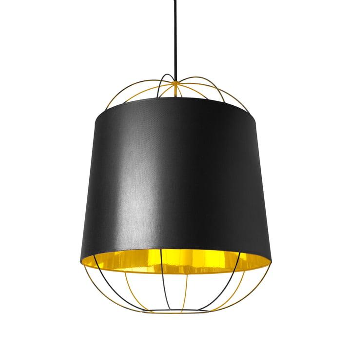 Lanterna Pendelleuchte medium von Petite Friture in Schwarz / Gold