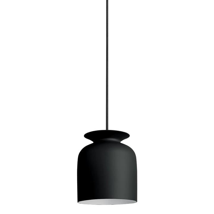 Gubi - Ronde Pendelleuchte, Ø 20 cm, schwarz