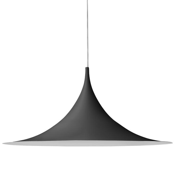 Semi Pendelleuchte Ø 60 cm von Gubi in Schwarz
