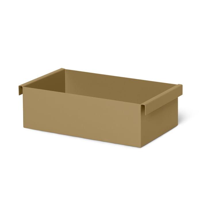 Der Container / Einsatz für die Plant Box von ferm Living in olive