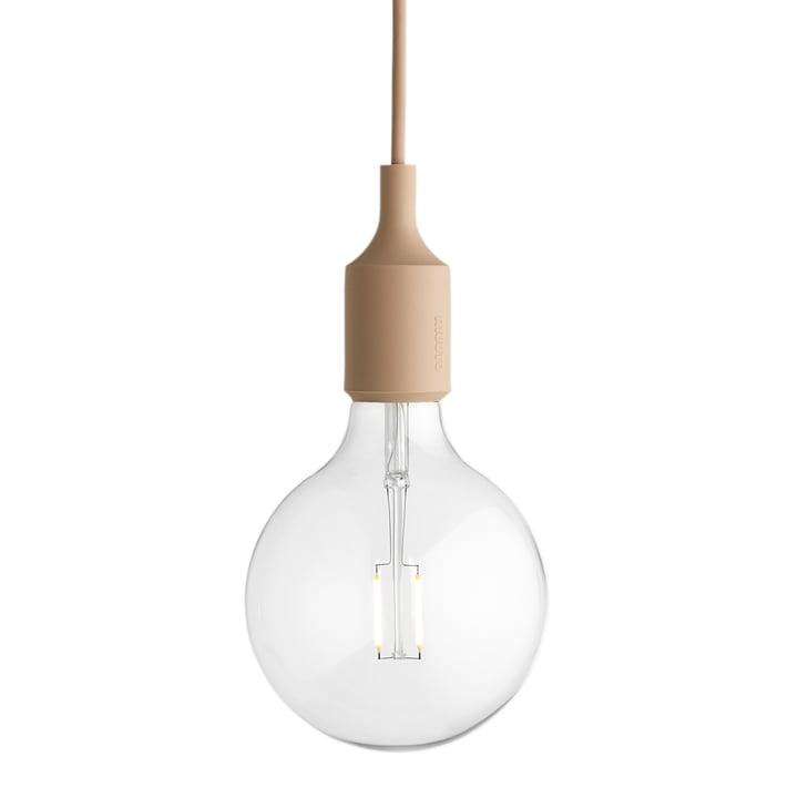 Muuto - Pendelleuchte E27-Socket Pendant Lamp LED, nude