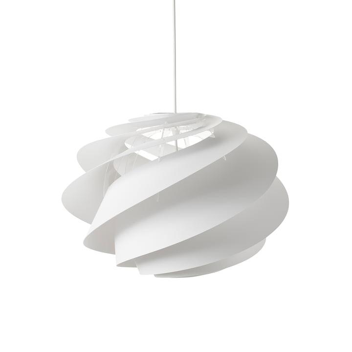 Swirl 1 Pendelleuchte Ø 45 cm von Le Klint in Weiß