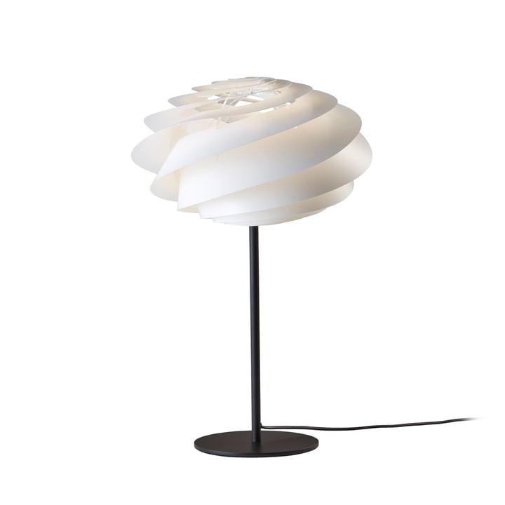 Swirl Tischleuchte Ø 32 cm von Le Klint in Weiß