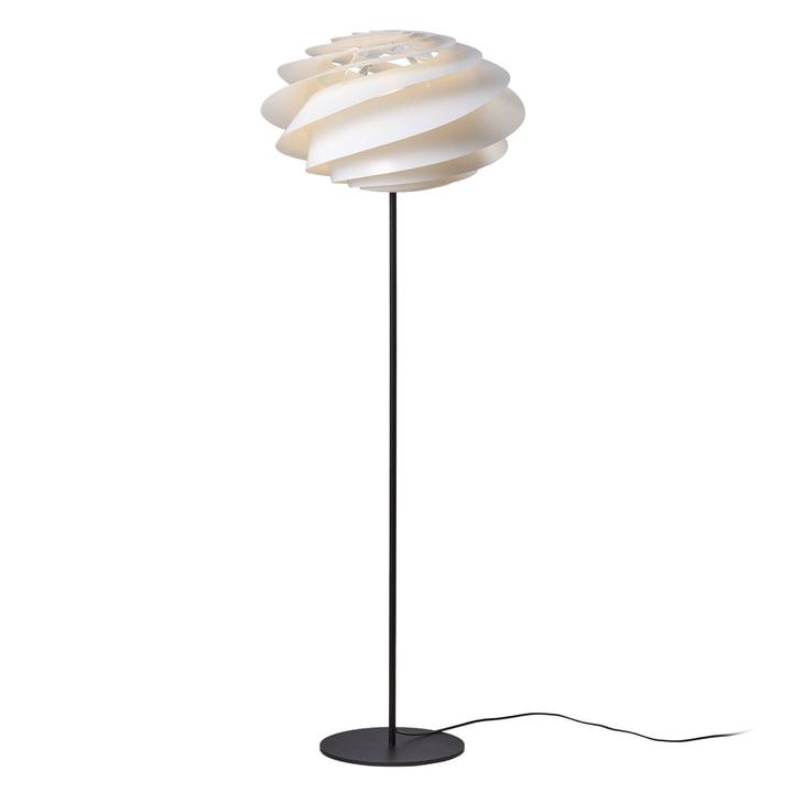 Swirl Stehleuchte Ø 50 cm von Le Klint in Weiß