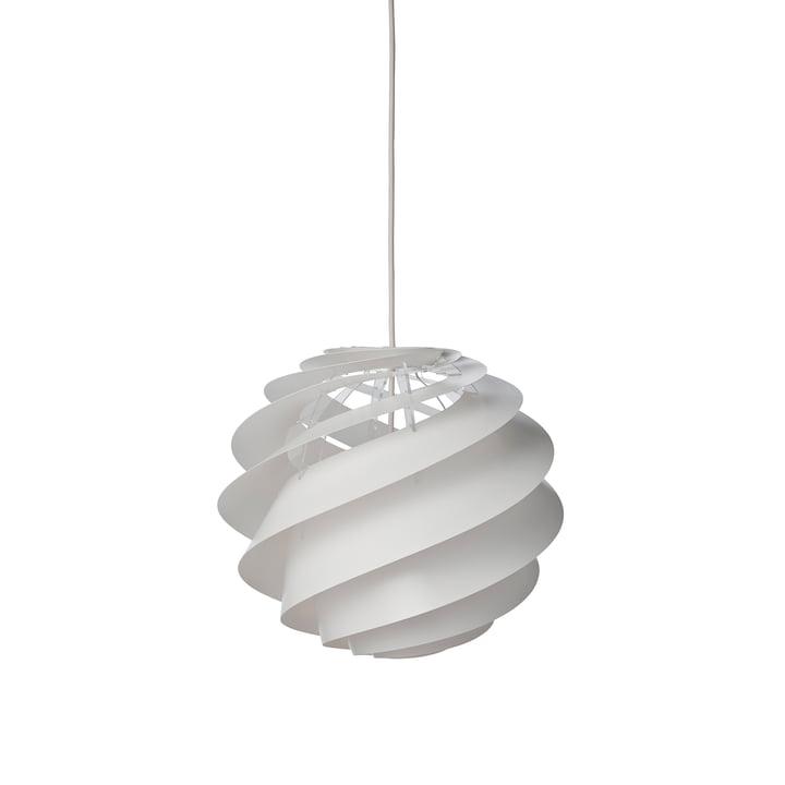 Swirl 2 Pendelleuchte Ø 32 cm von Le Klint in Weiß