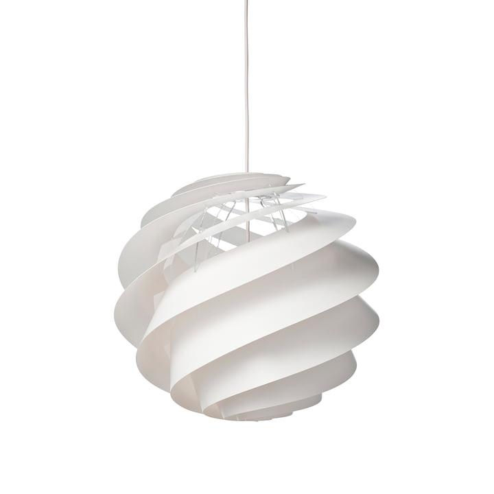 Swirl 3 Pendelleuchte Ø 40 cm von Le Klint in Weiß