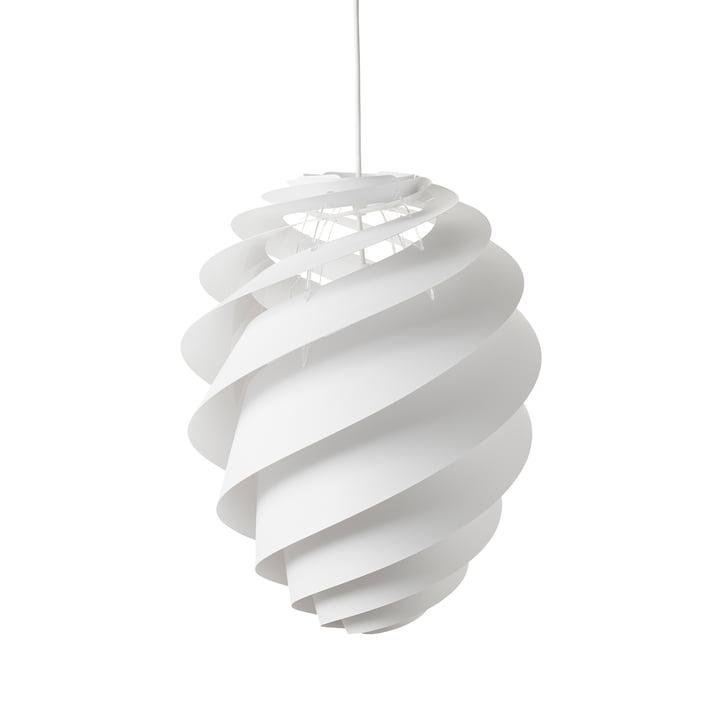 Swirl 2 Pendelleuchte Ø 36 cm von Le Klint in Weiß