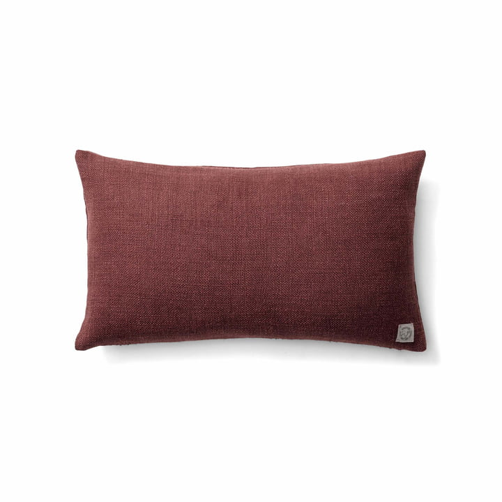 Das Collect SC27 Kissen heavy linen von &tradition in burgundy