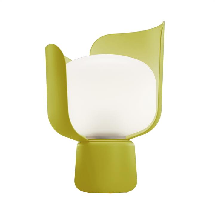Blom Tischleuchte von FontanaArte in Gelb
