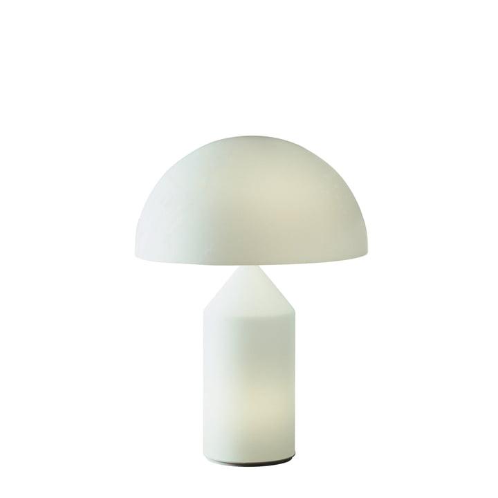 Atollo Tischleuchte 236, Opalglas von Oluce