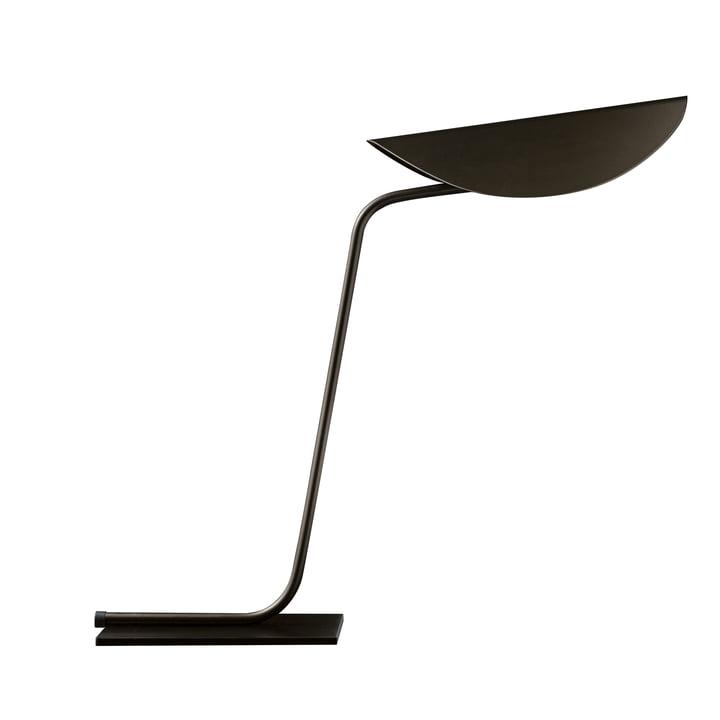 Plume Tischleuchte, bronze von Oluce