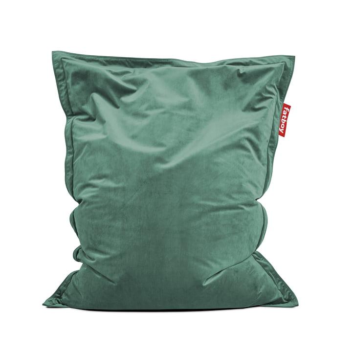 Sitzsack Original Slim Velvet recycled, sage von Fatboy