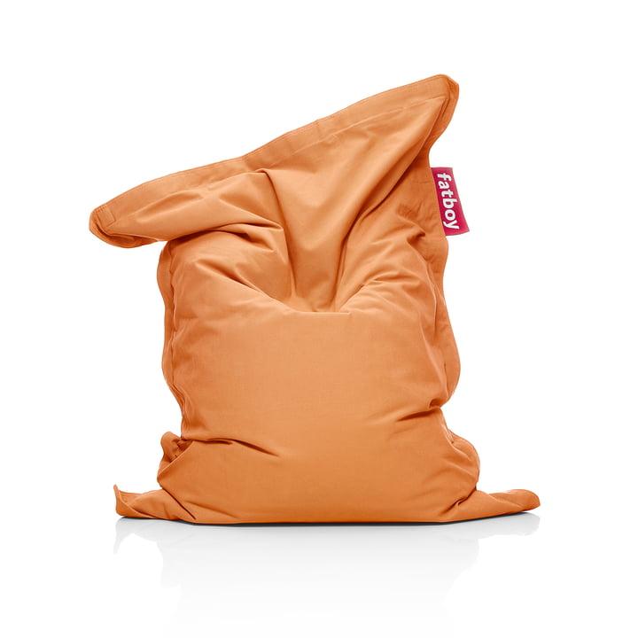 Junior Sitzsack Stonewashed, orange von Fatboy