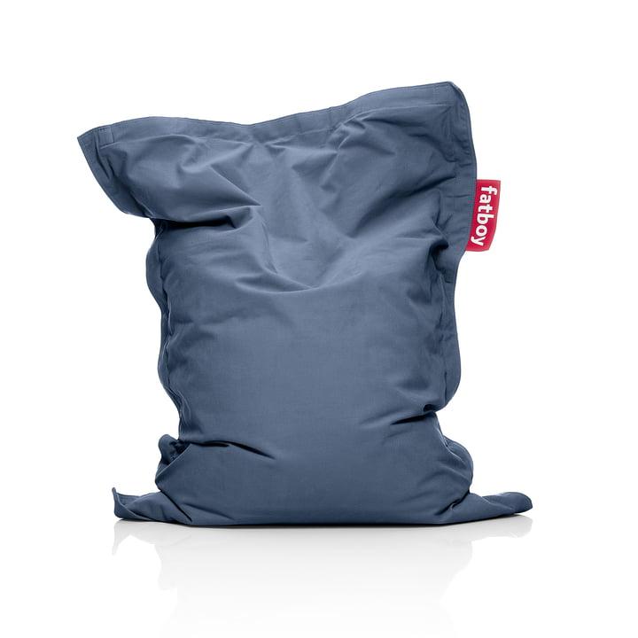 Junior Sitzsack Stonewashed, blau von Fatboy