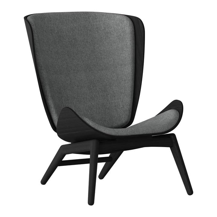 The Reader Sessel von Umage in schwarz / slate grey