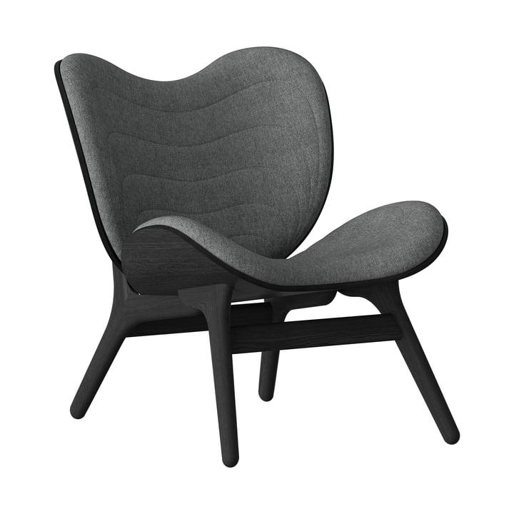 A Conversation Piece Sessel von Umage in schwarz / slate grey