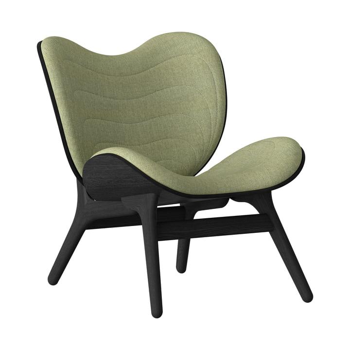 A Conversation Piece Sessel von Umage in schwarz / spring green