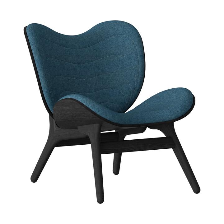 A Conversation Piece Sessel von Umage in schwarz / petrolblau