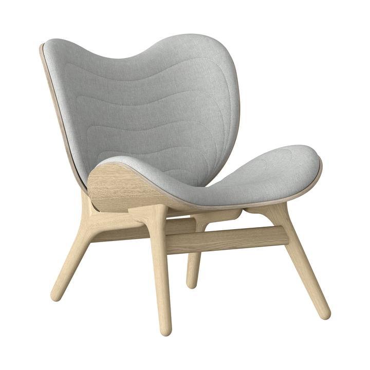 A Conversation Piece Sessel von Umage in Eiche natur / silver grey