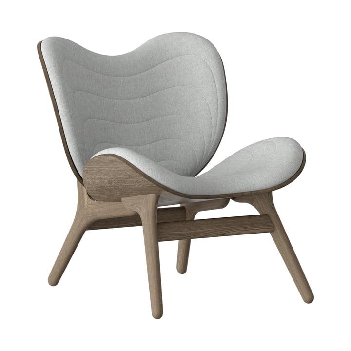 A Conversation Piece Sessel von Umage in Eiche dunkel / silver grey
