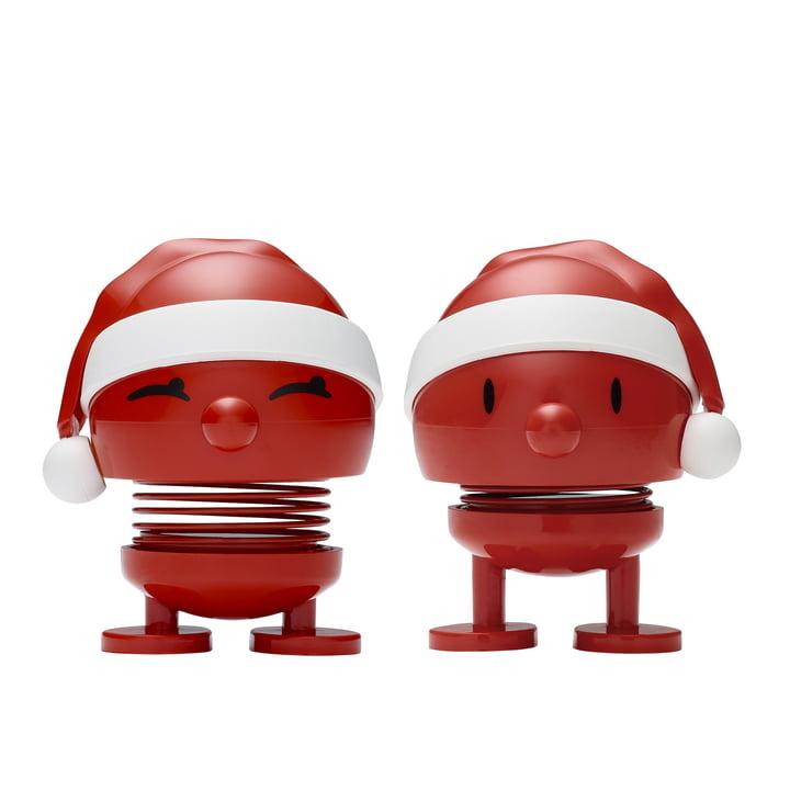 Santa Bimble & Bumble Set, klein von Hoptimist
