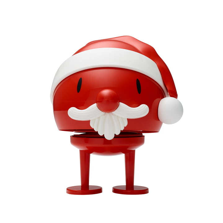 Santa Claus Bumble, groß / rot von Hoptimist