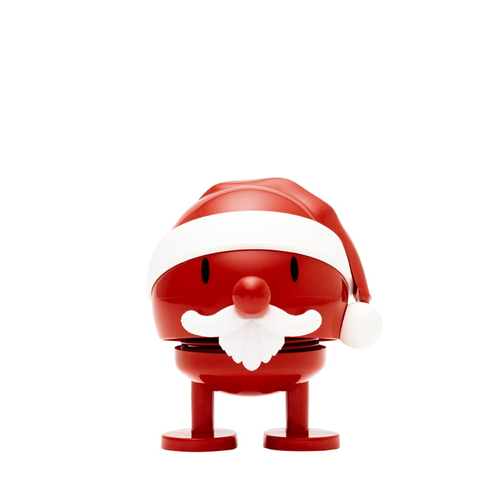 Santa Claus Bumble, klein / rot von Hoptimist