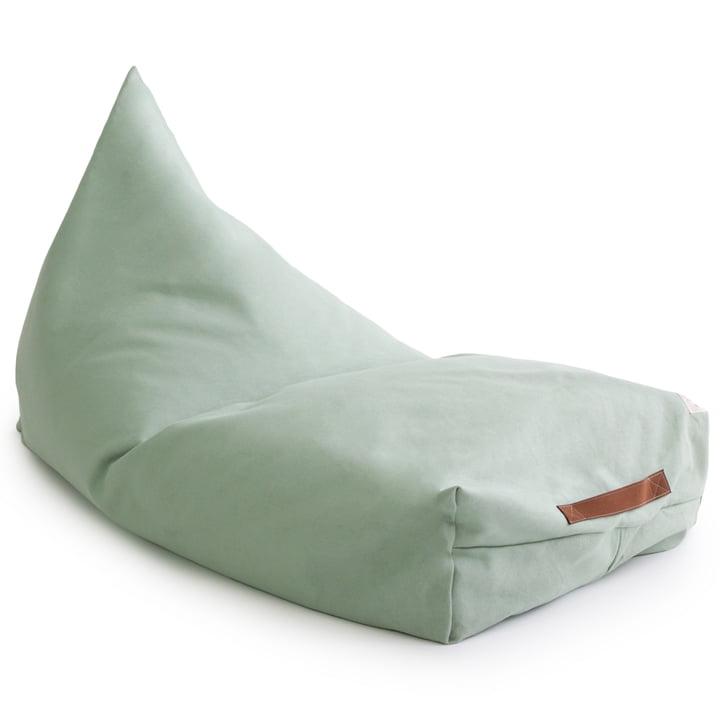 Der Oasis Kinder-Sitzsack von Nobodinoz in provence green