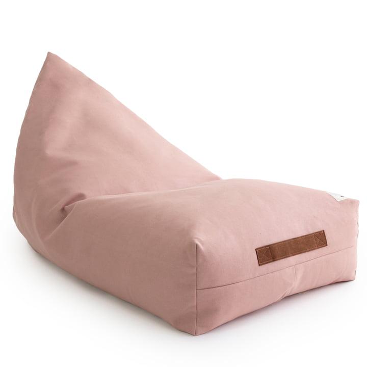 Der Oasis Kinder-Sitzsack von Nobodinoz in bloom pink