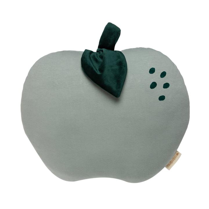 Das Apple Kissen von Nobodinoz in antique green