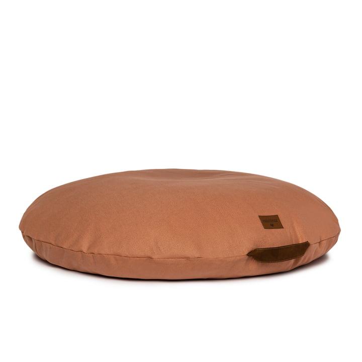 Der Sahara Kindersitzsack von Nobodinoz in sienna brown
