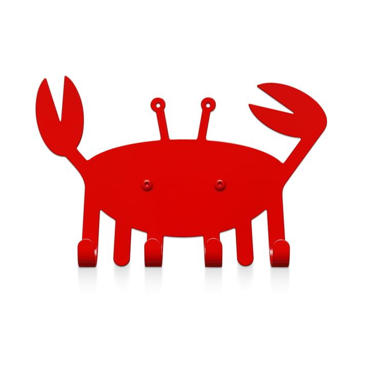 Der Kleine Krabbe Wandhaken von vonbox in verkehrsrot