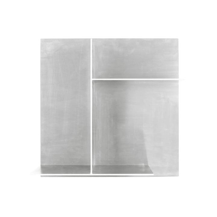 Rivet Typecase Wandablage, Aluminium von Frama