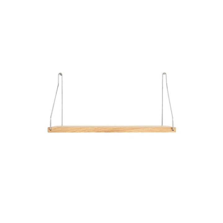 Shelf Regal 40 x 20 cm, Eiche / Stahl von Frama