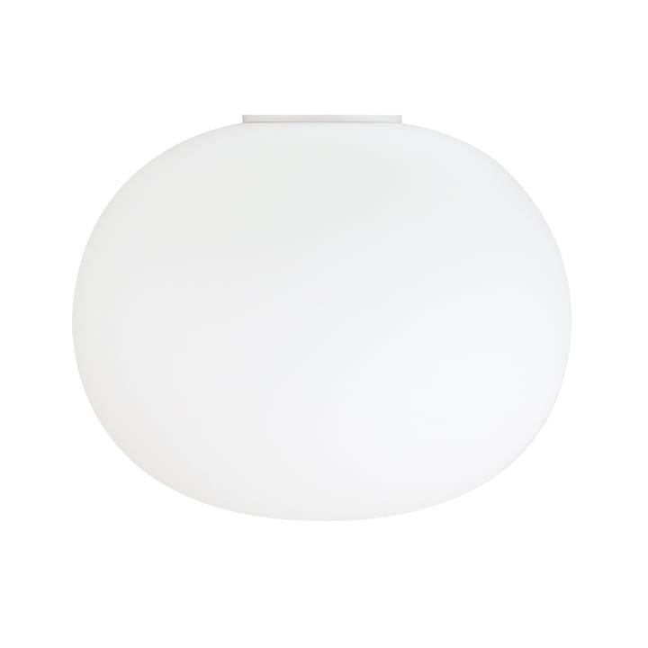 Die Glo-Ball Wand- und Deckenleuchte 2 von Flos in weiß, Ø 45 cm