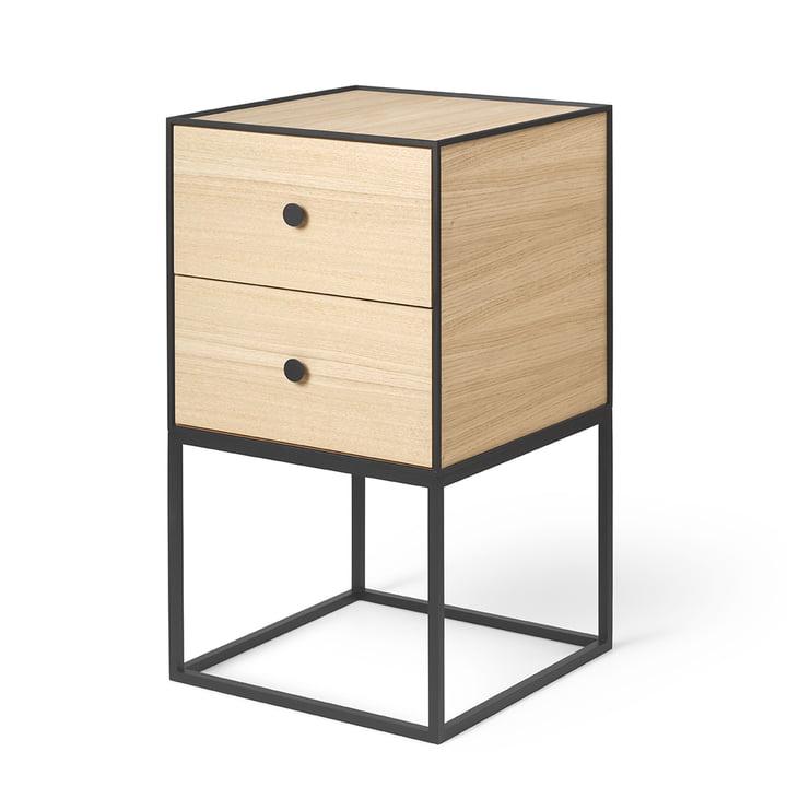 Frame Sideboard 35 (inkl. 2 Schubladen), Eiche von by Lassen