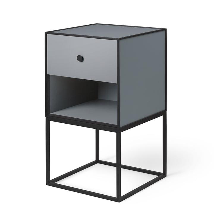 Frame Sideboard 35 (inkl. Schublade), dunkelgrau von by Lassen