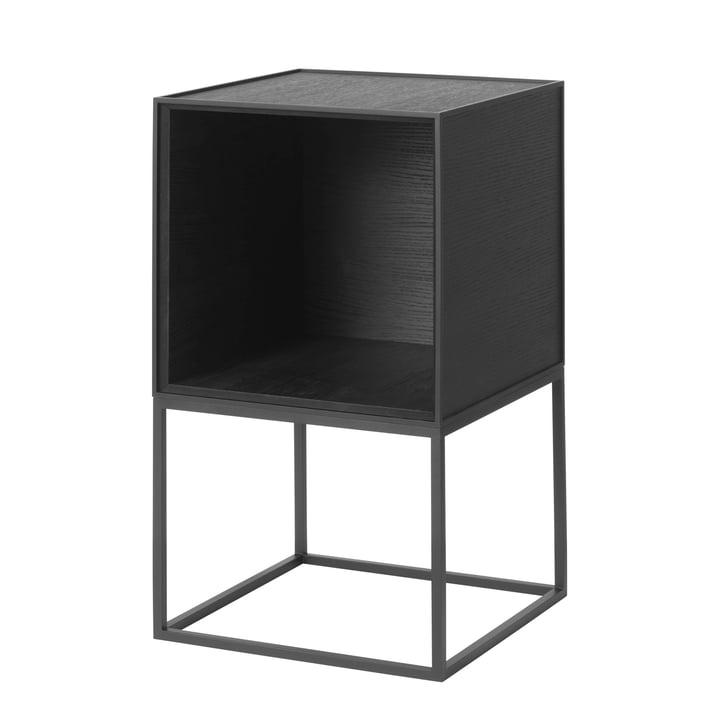 Frame Sideboard 35, Esche schwarz gebeizt von by Lassen