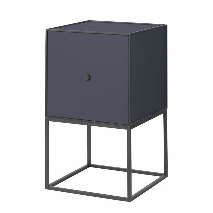 Frame Sideboard 35 (inkl. Tür), dunkelblau von by Lassen