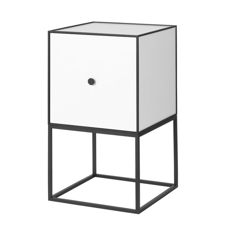 Frame Sideboard 35 (inkl. Tür), weiß von by Lassen
