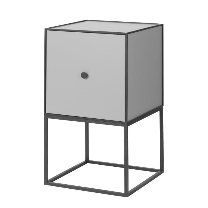 Frame Sideboard 35 (inkl. Tür), dunkelgrau von by Lassen