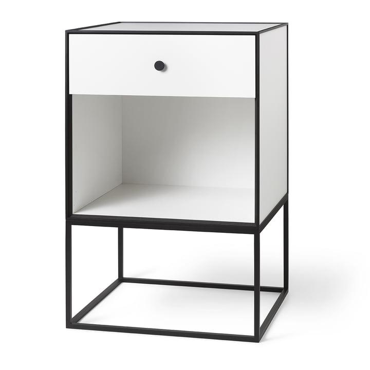 Frame Sideboard 49 (inkl. Schublade), weiß von by Lassen