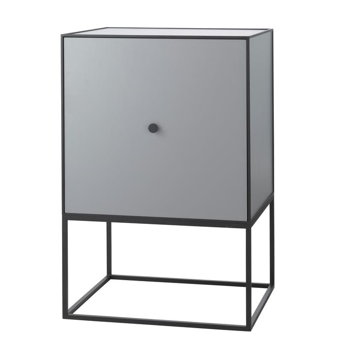 Frame Sideboard 49 (inkl. Tür & Regalboden), dunkelgrau von by Lassen