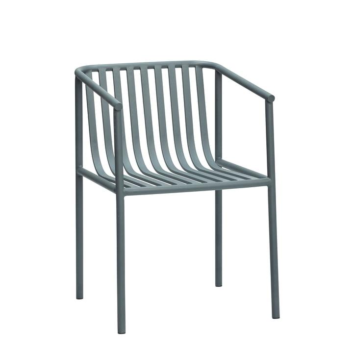 Outdoor Stuhl, grau von Hübsch Interior