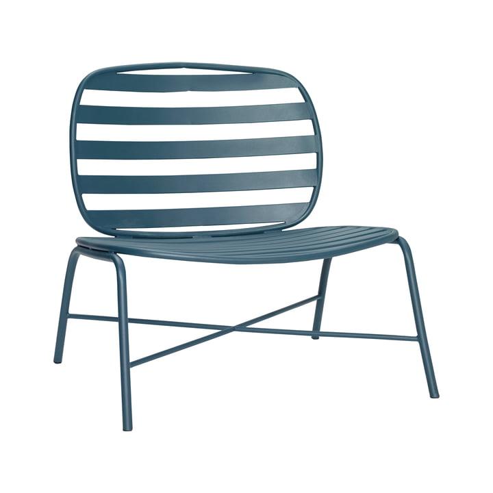 Outdoor Loungestuhl, grün von Hübsch Interior