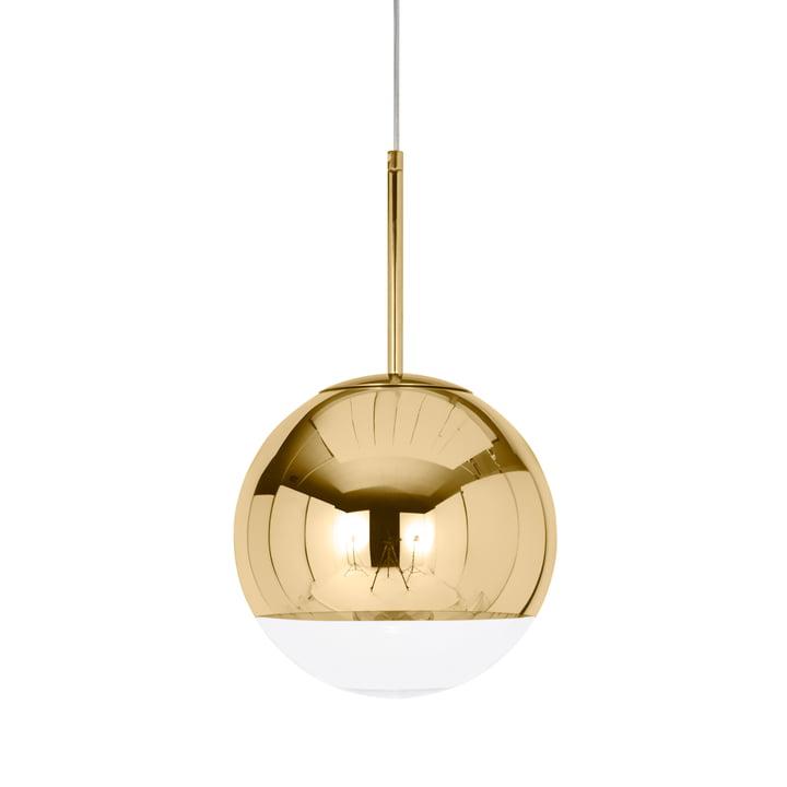 Mini Mirror Ball Gold Pendelleuchte Ø 25 cm von Tom Dixon