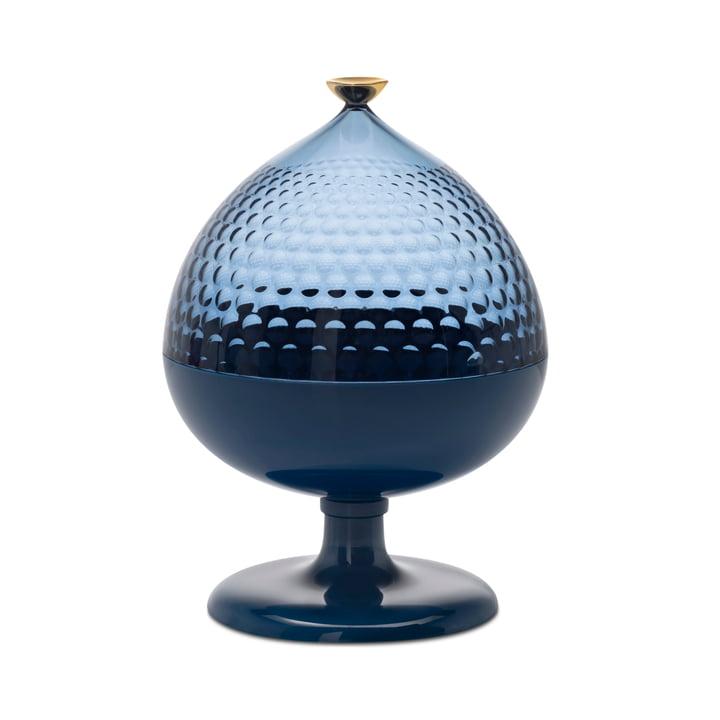 Pumo Aufbewahrungsglas, Ø 21 cm, blau / hellblau von Kartell