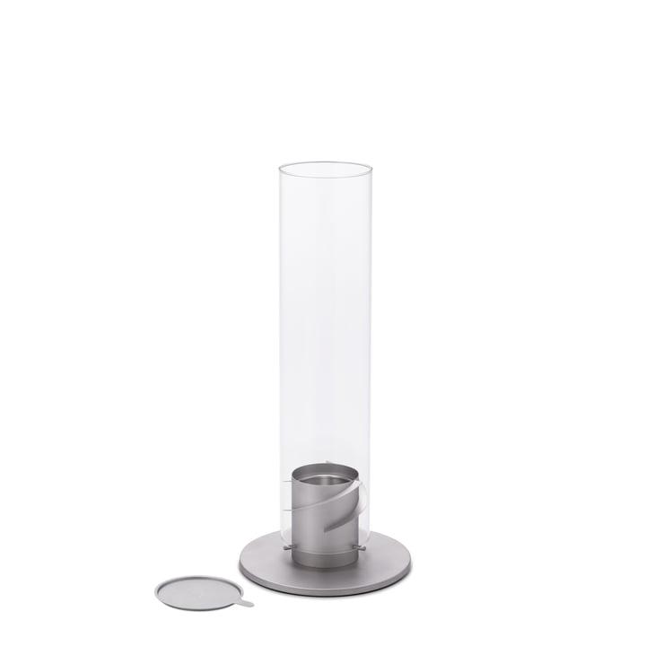 Das Spin Tischfeuer 90 von höfats in grau